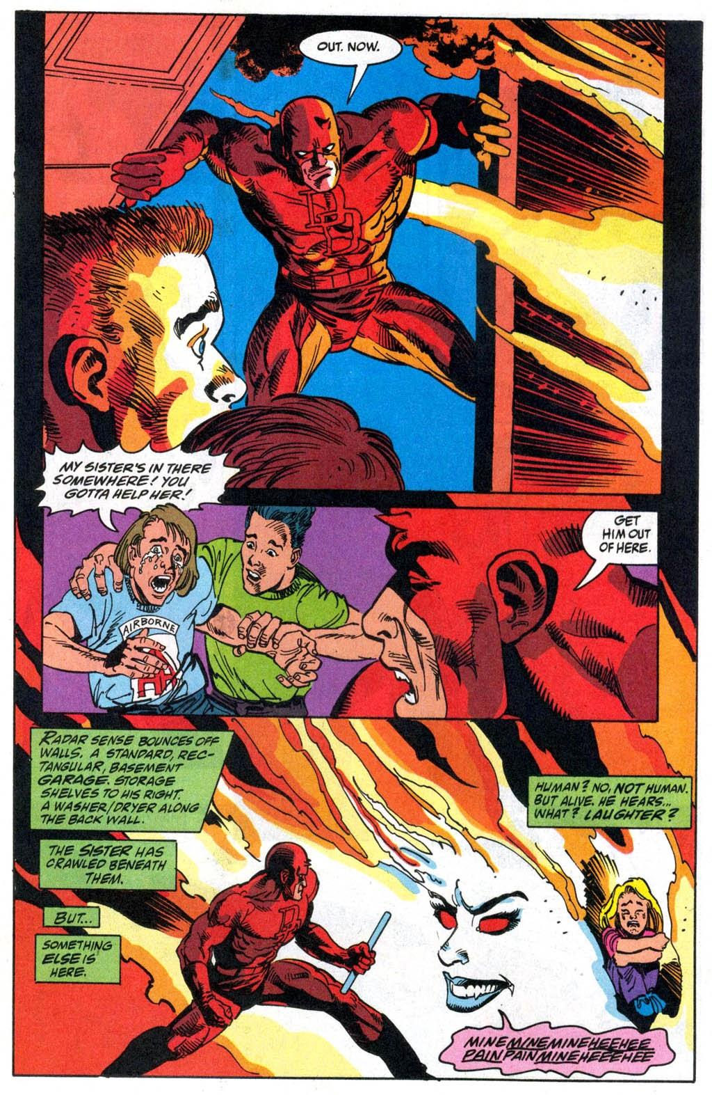 Read online Daredevil vs. Vapora comic -  Issue # Full - 13