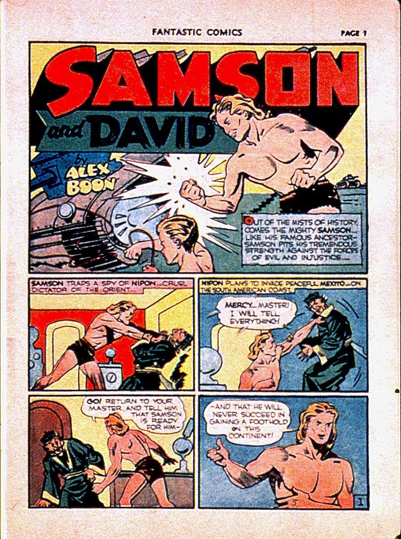 Read online Fantastic Comics comic -  Issue #13 - 4