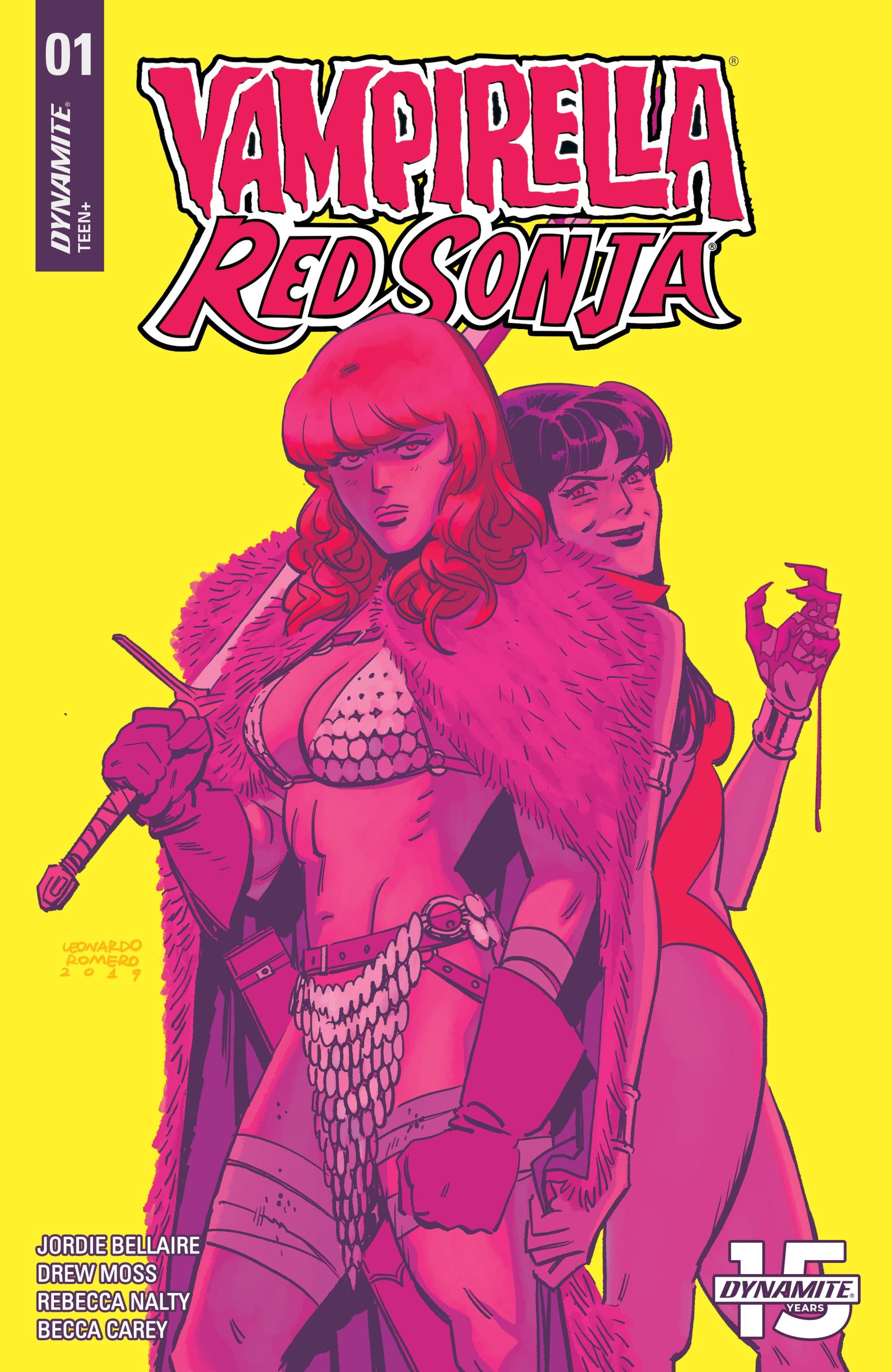 Vampirella/Red Sonja #1 #1 - English 4