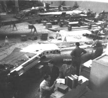SAAB i Trollhättan på 1940-talet