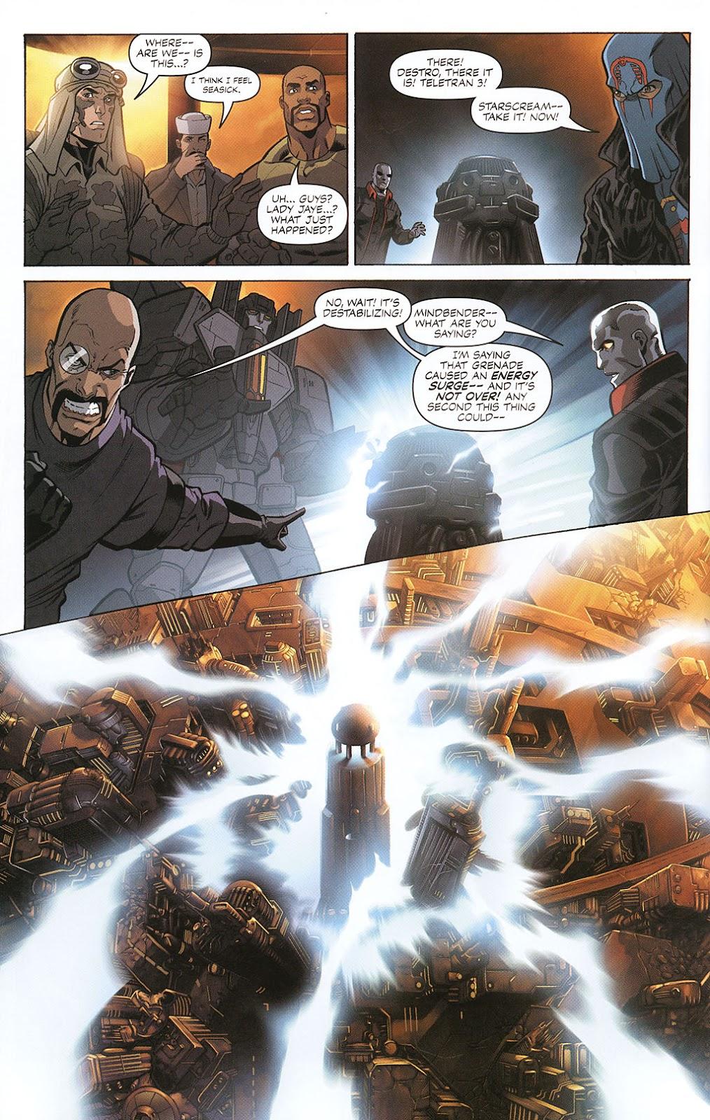 G.I. Joe vs. The Transformers II Issue #0 #1 - English 14
