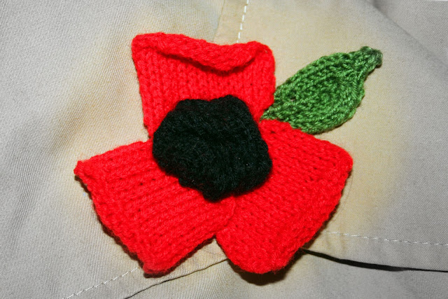 The Butterfly Balcony Poppy Appeal knitting pattern