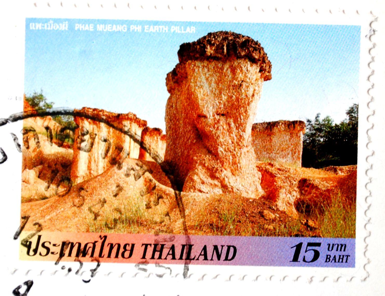 stamp thailand