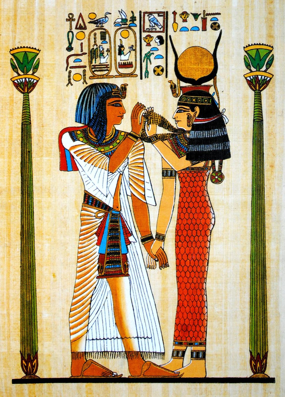 pismo obrazkowe egipt