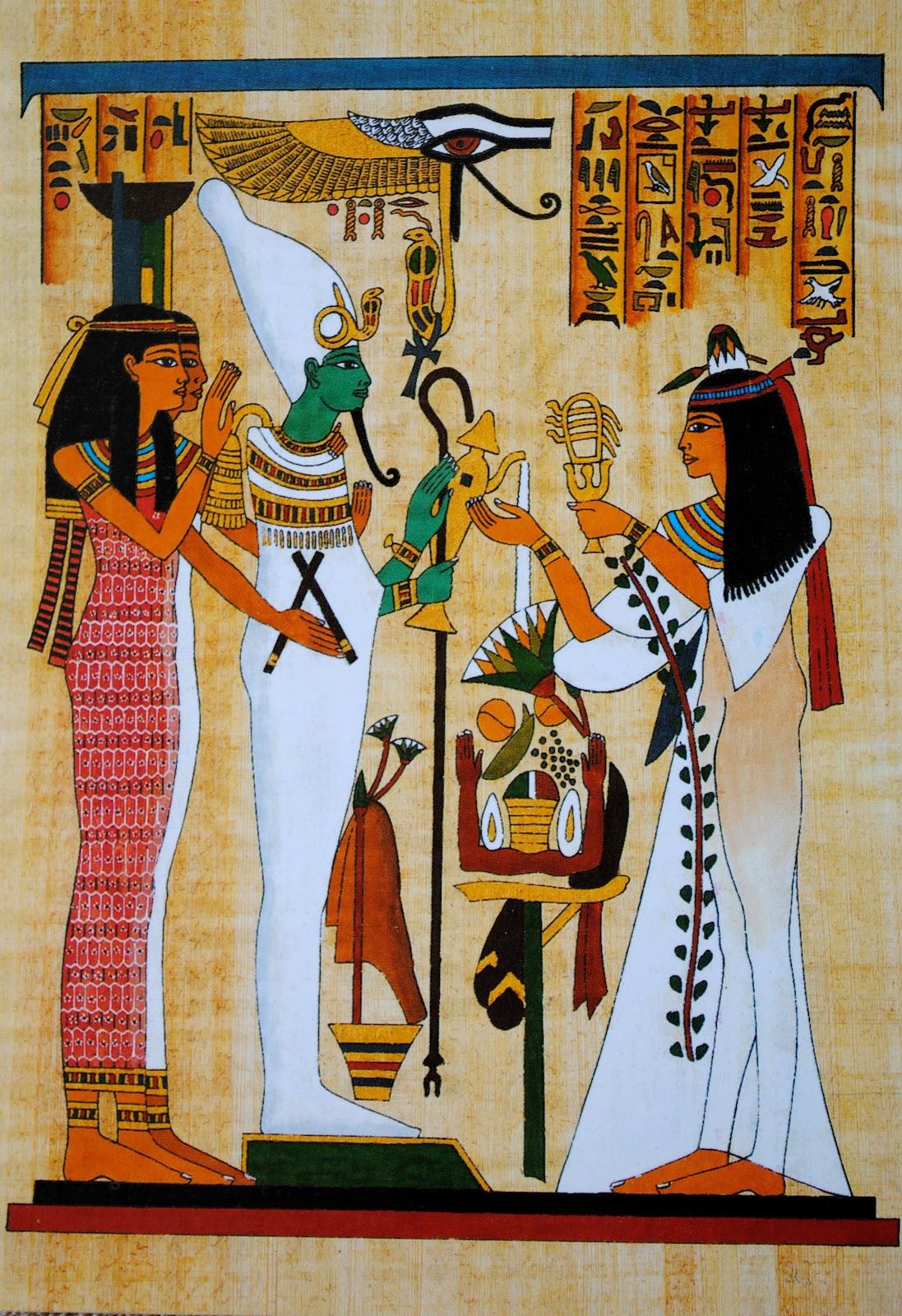 egipt styl pisma