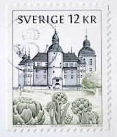 znaczek ze szwecji