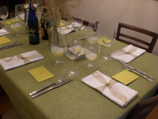 My Simple 2008 Thanksgiving Table