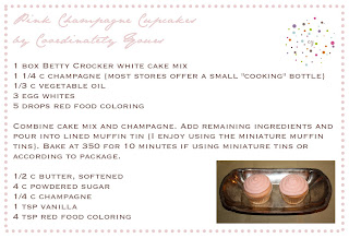 Recipe | Pink Champagne Cupcakes