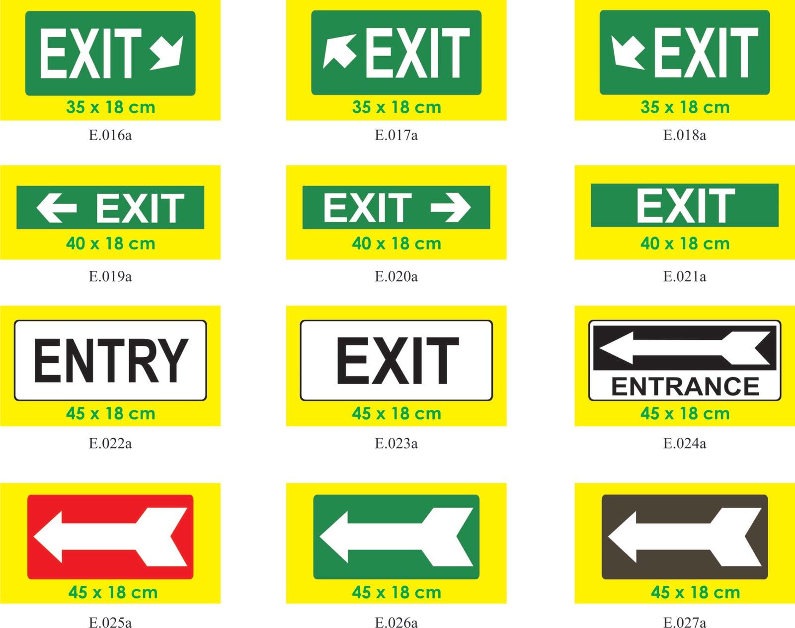 SAFETY SIGN DAN ADVERTISING: Gambar Safety Sign