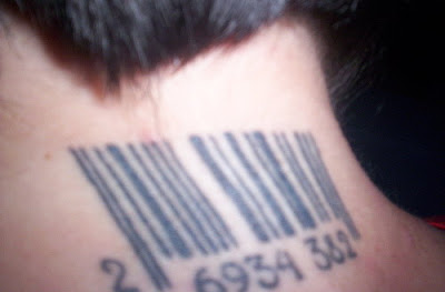 Barcode Tattoos Damn Cool Pictures