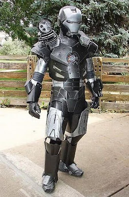 Handmade War Machine Cosplay ~ Damn Cool Pictures