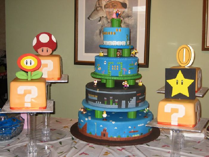 super mario bros wedding cake its all about 50 awesome mario cakes 20626