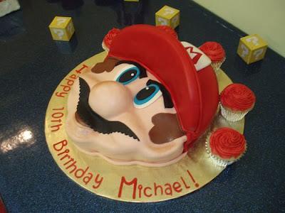 كعكة سوبر ماريو