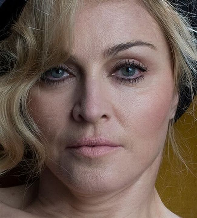 Madonna Before Amp After Photoshop Louis Vuitton