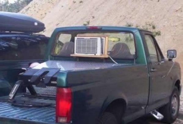 Redneck Air Conditioning Damn Cool Pictures