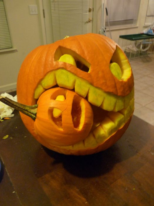 How To Create A Cannibal Pumpkin Damn Cool Pictures