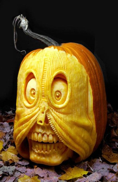 Incredible Pumpkin Carvings Damn Fresh Pics