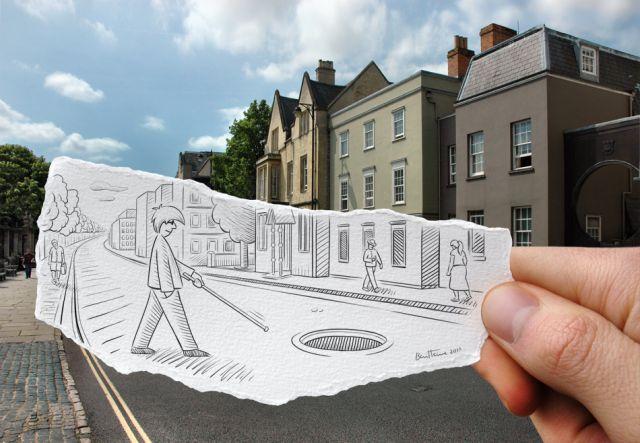 Cool High Quality Pix: Pencil versus Camera by Ben Heine ...