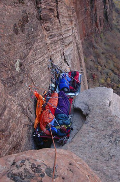Extreme Hanging Tents ~ Damn Cool Pictures