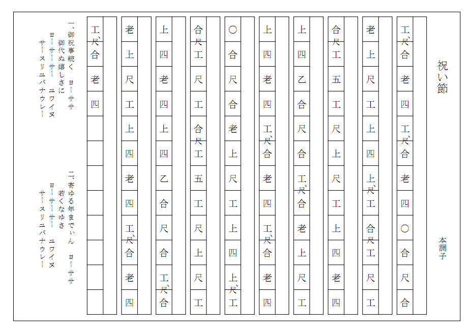 Images of 工工四 Page 3 - JapaneseClass.jp