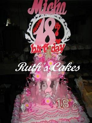 Edjzz Little Store Debut Cake Cake For Debut