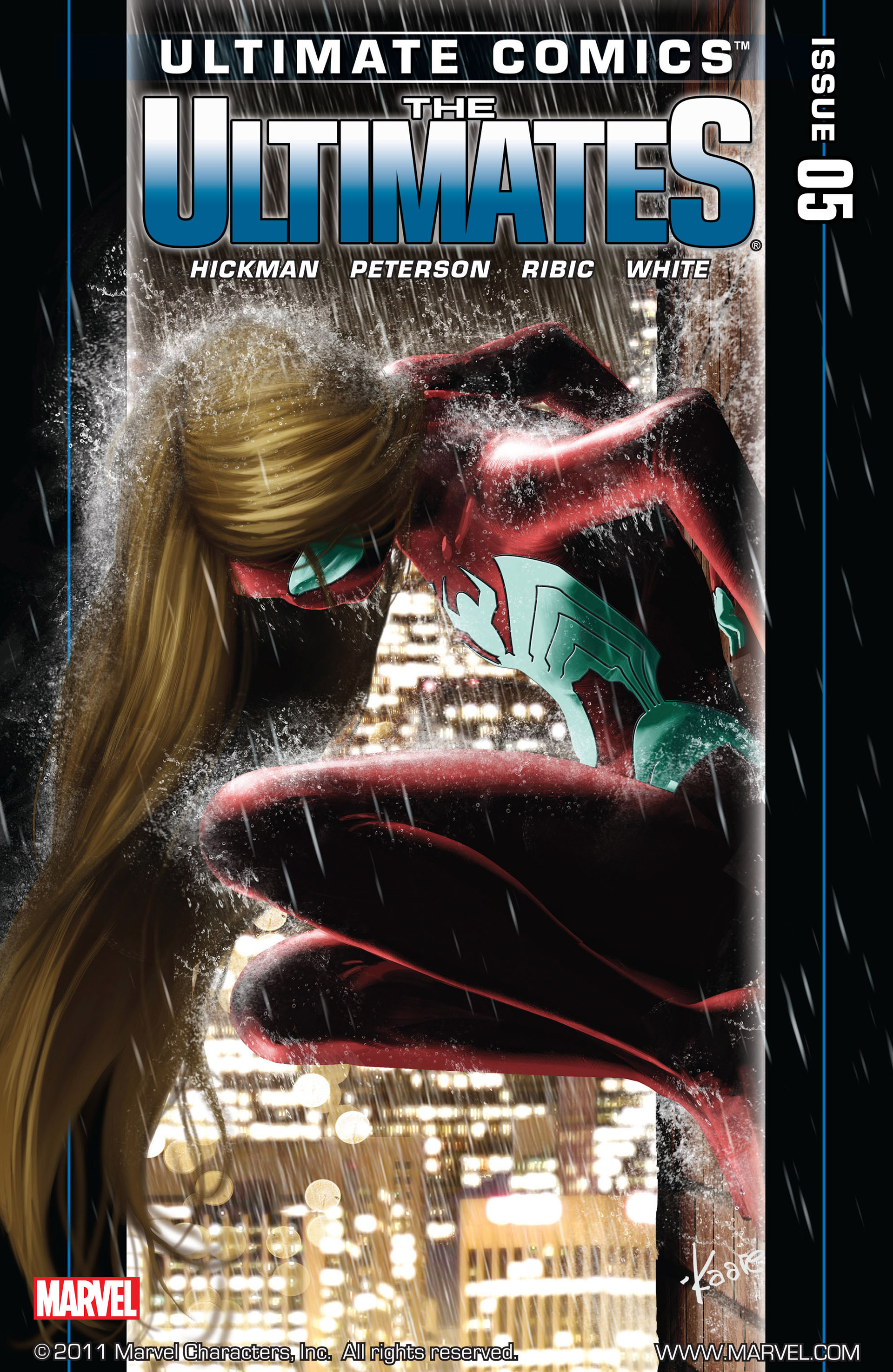 Read online Ultimate Comics Ultimates comic -  Issue #5 - 1