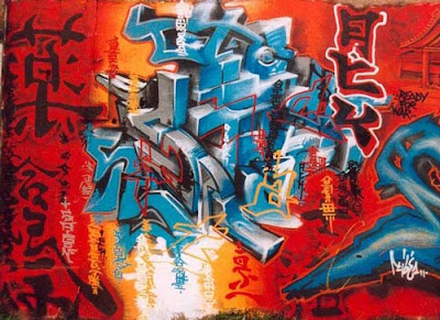chinese type, letter, alphabet, graffiti