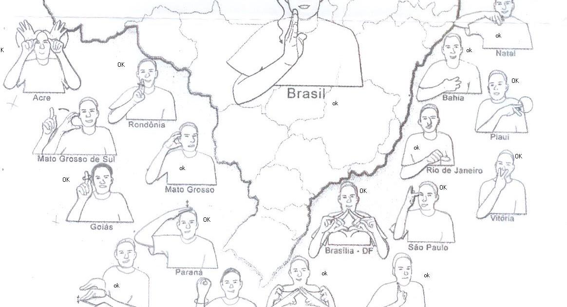 Favoritos BLOG DA ANA CAROLINA, PEDAGOGA SURDA: Sinais: Estados do Brasil LR53