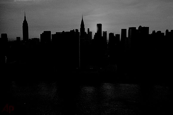 Night Lights Went Out New York City