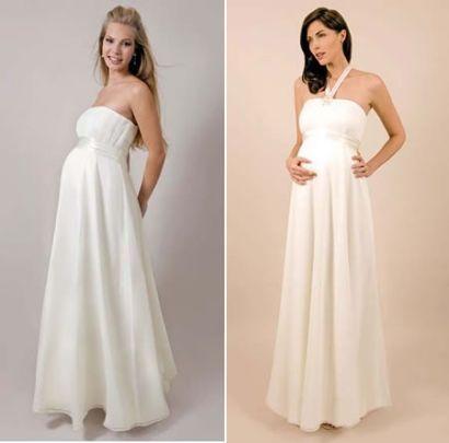 f94261614 Si estas en la dulce espera y vas a casarte pronto aqui te dejo algunos  modelos de vestidos que te sentaran muy bien