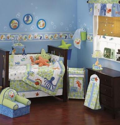 Habitaciones para bebes, variantes creativas para decoración simple