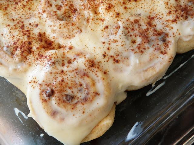 Cinnamon Bun Frosting