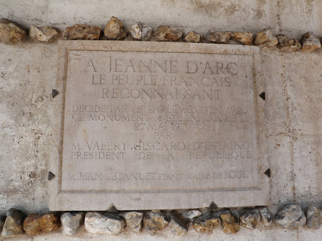 Joan of Arc Plaque