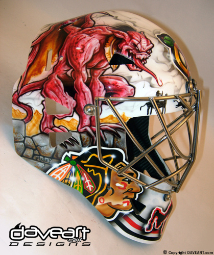 Top 20 Goalie Masks of All-Time – TheHockeyFanatic  |Marty Turco Mask