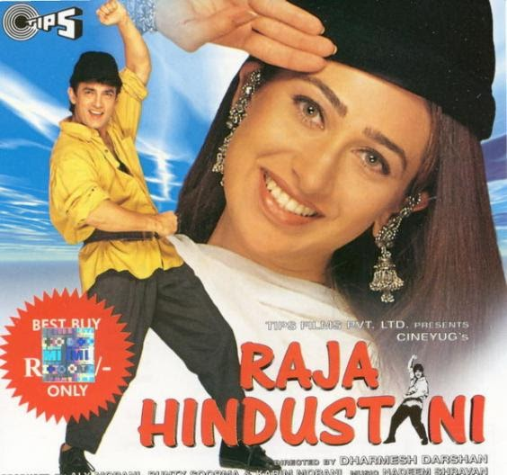 Aamir-karisma's raja hindustani clocks 20 years: from pardesi song.