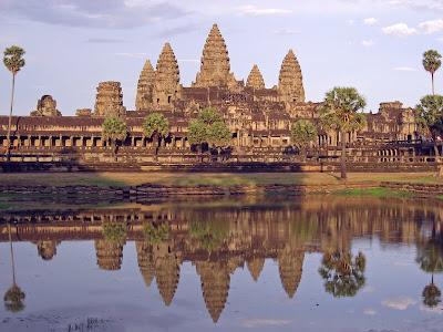 Senhor Vishnu Temple, Angkor, Camboja