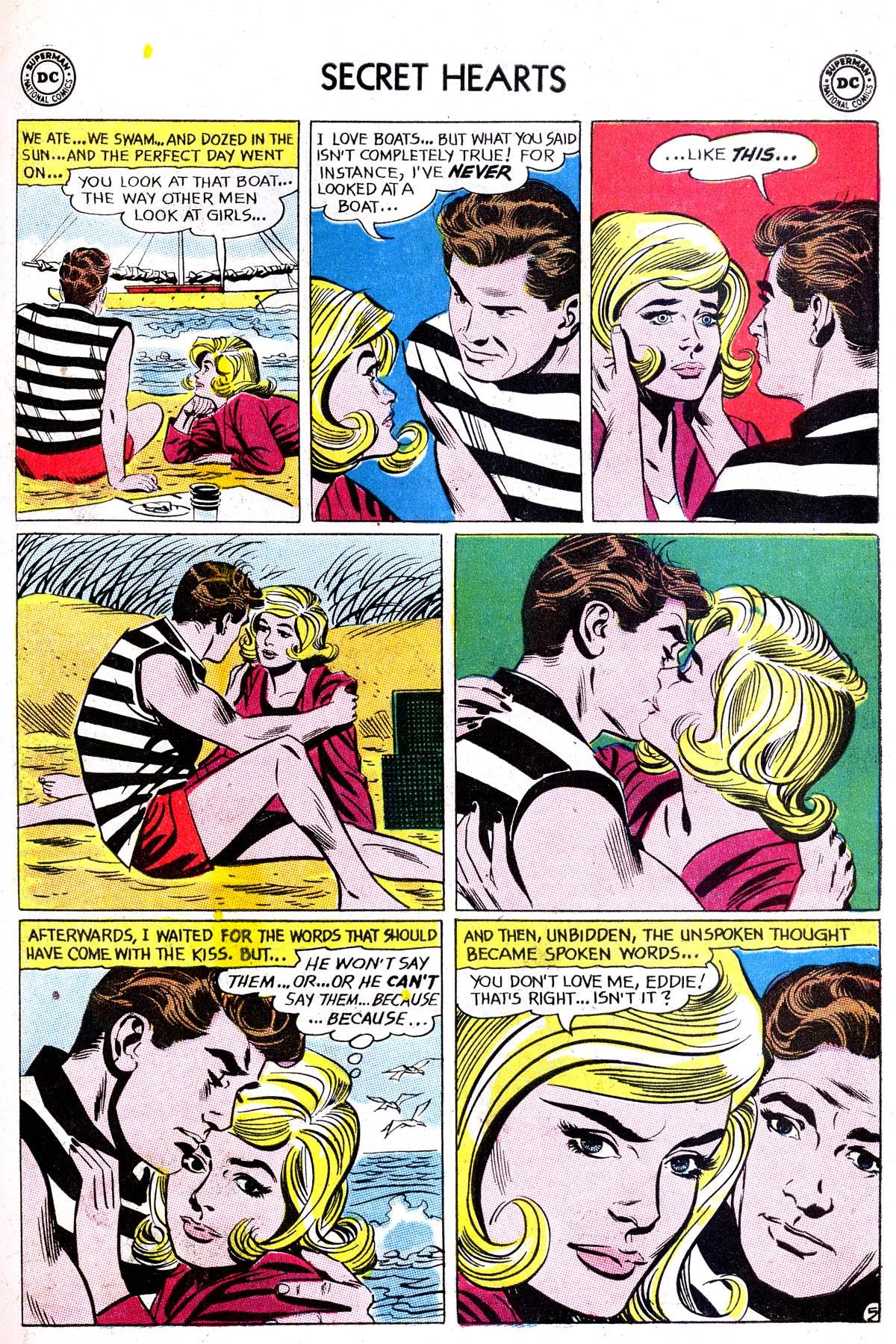 Read online Secret Hearts comic -  Issue #87 - 15