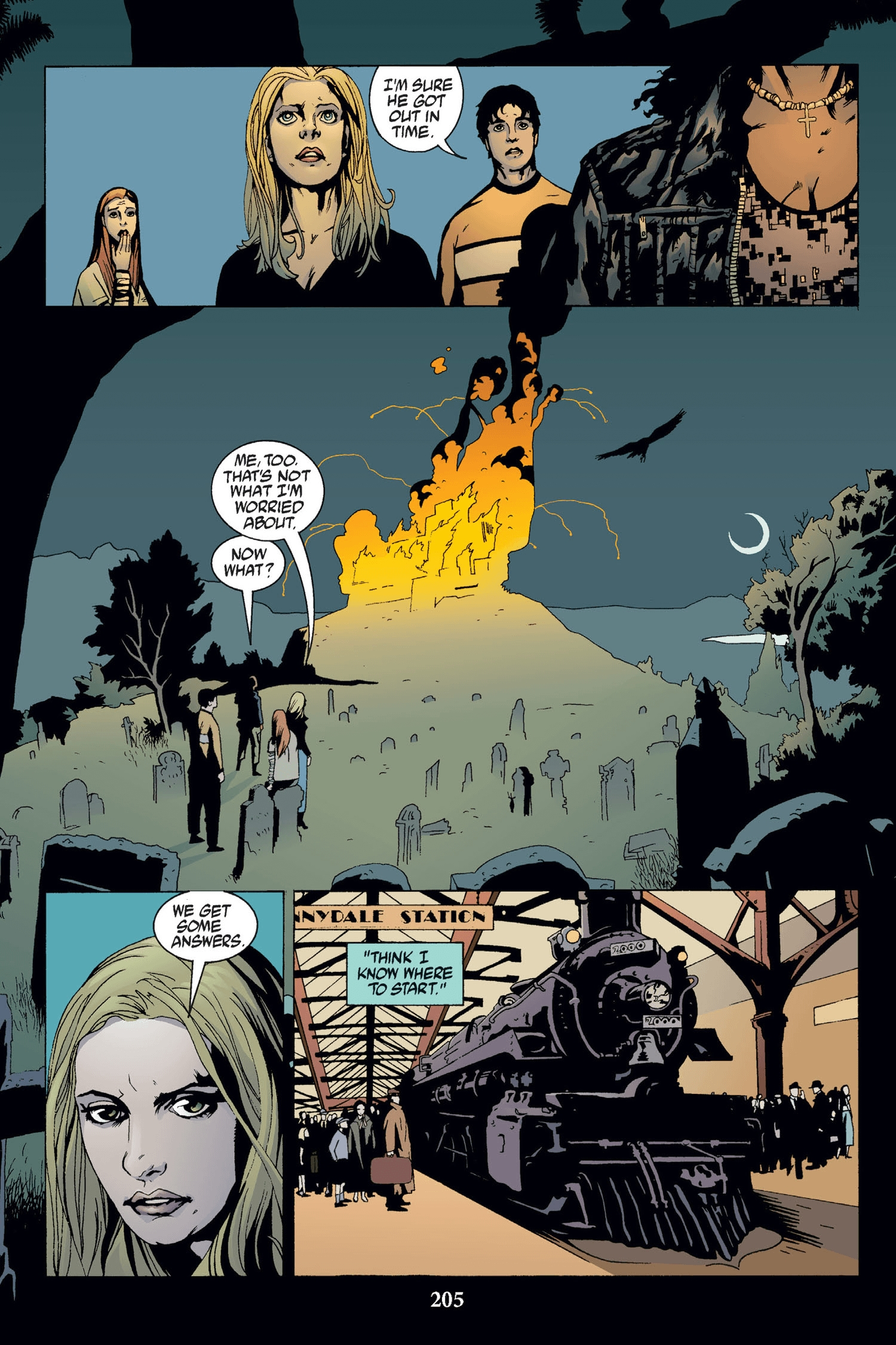 Read online Buffy the Vampire Slayer: Omnibus comic -  Issue # TPB 2 - 199