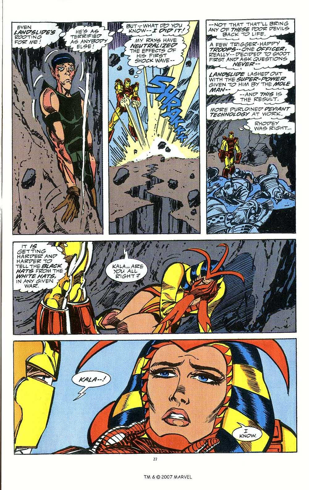 Iron Man Annual issue 12 - Page 29