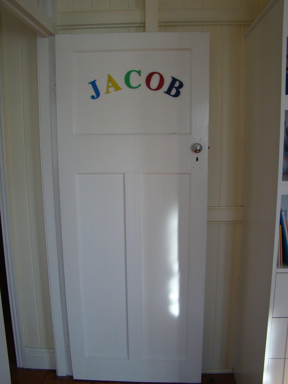 Bedroom Door Name  Cook Clean Craft