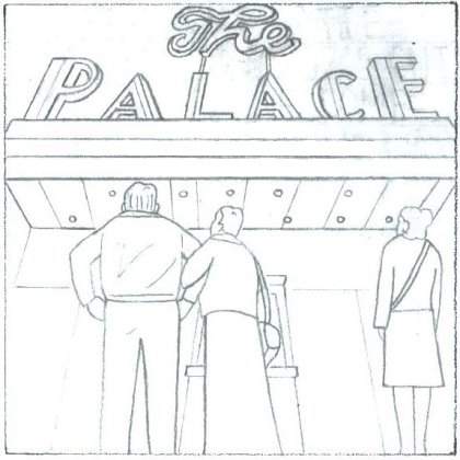 A sneak peek of The Palace: Photographed in Single-Panelvision 70