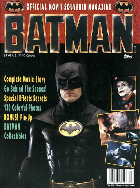 In some alternate universe that's lamer than our reality, one-time Batman movie frontrunner Bill Murray is on this cover instead of Michael Keaton.