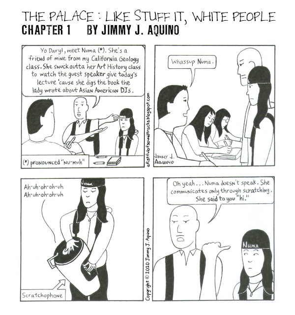The Palace: Like Stuff It, White People, Chapter 1 by Jimmy J. Aquino