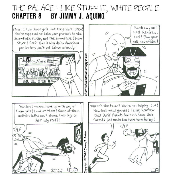 The Palace: Like Stuff It, White People, Chapter 8 by Jimmy J. Aquino