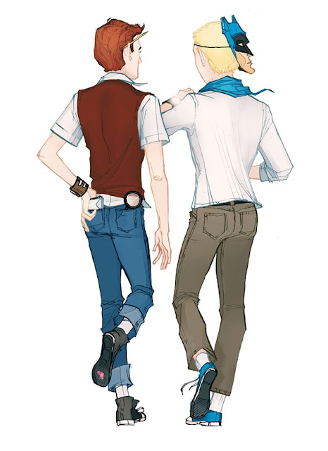 Dean and Hank Venture by Annie Wu