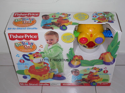 Little Precious Store Fisher Price Sit To Stand Giraffe
