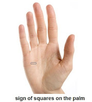 Sign of Square on the Palm - Palmistry Reading