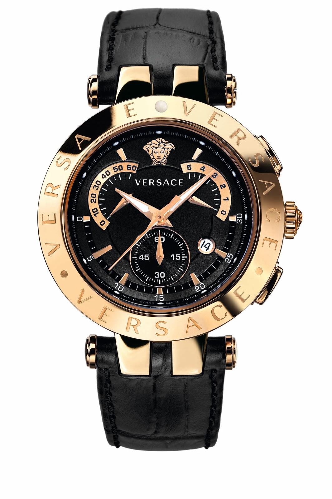 Fashion Gossip: Versace's NEW wrist candy: The VRace watch