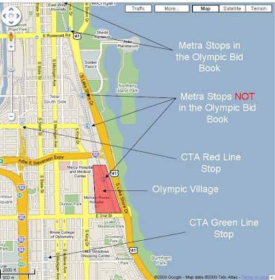 Sloopin - A South Loop Blog: The Metra and The Olympic