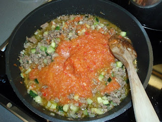 salsa de verduras para espaguetis